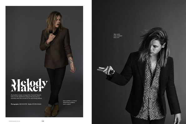 Conrad Sewell Fashion Shoot