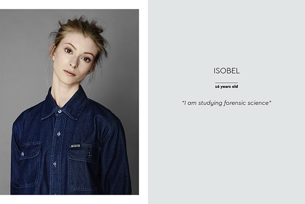 The Class of 2016 | Models 1 Isobel