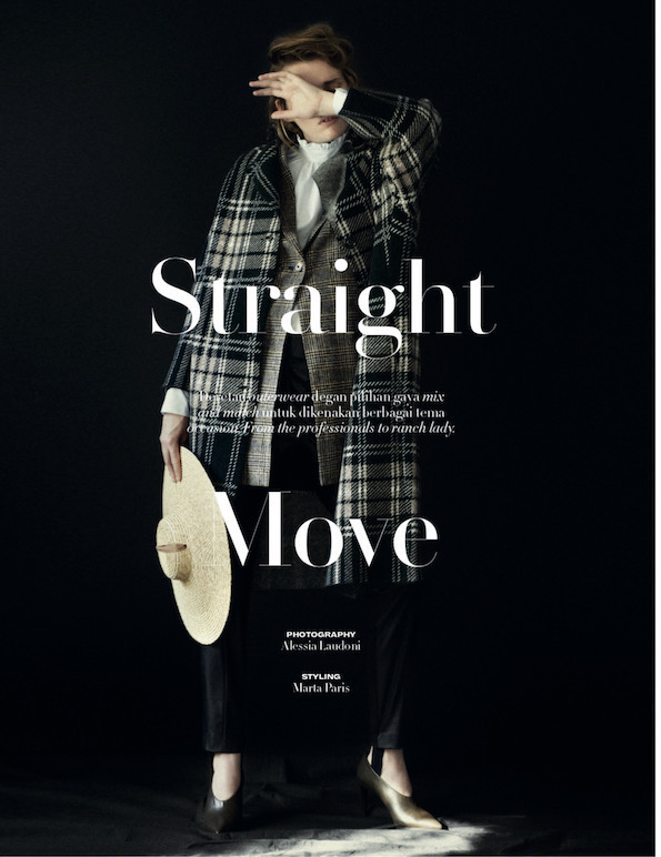 Straight Move for L'officiel / Indonesia