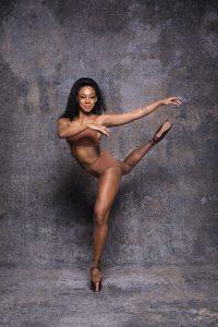 Portrait of ballet dancer from ballet company Ballet Black